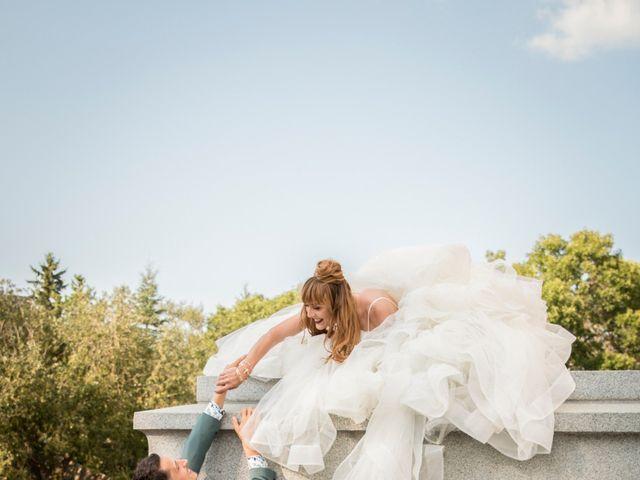Jasmin and Marina's wedding in Edmonton, Alberta 24