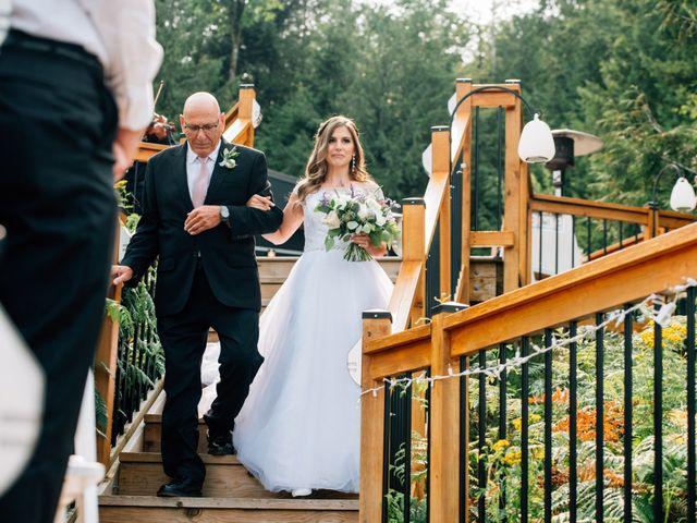 Adam and Katrina's wedding in Hope, British Columbia 7