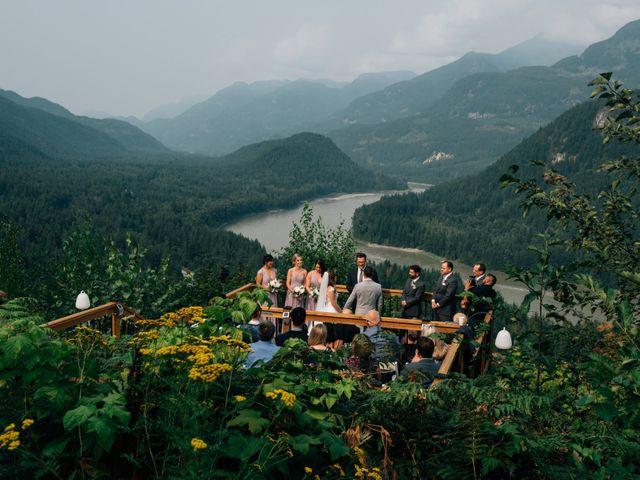 Adam and Katrina's wedding in Hope, British Columbia 9