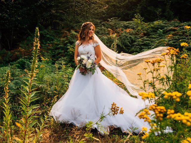 Adam and Katrina's wedding in Hope, British Columbia 2