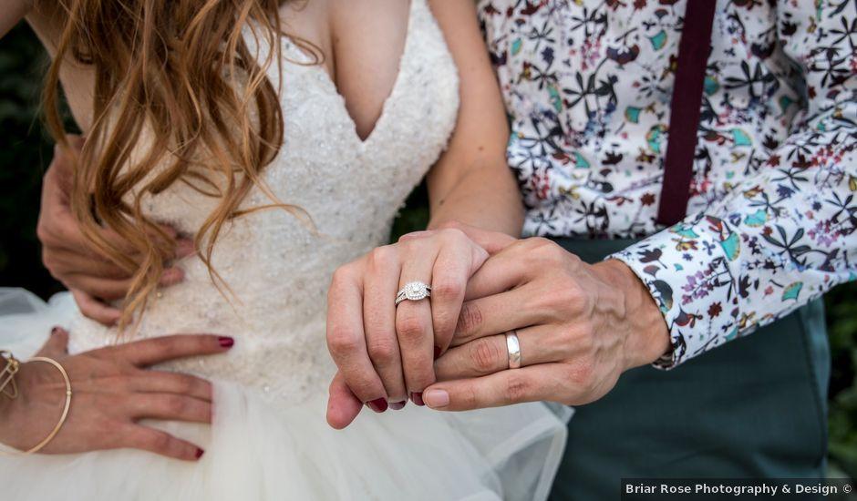 Jasmin and Marina's wedding in Edmonton, Alberta