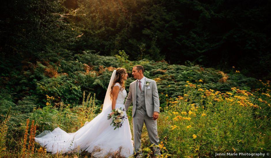 Adam and Katrina's wedding in Hope, British Columbia
