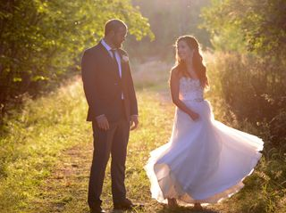 The wedding of Laura and Cody