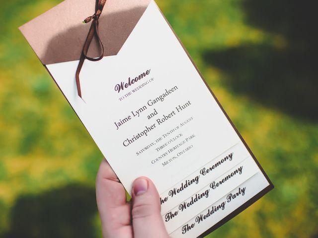 Chris and Jaime's wedding in Milton, Ontario 56