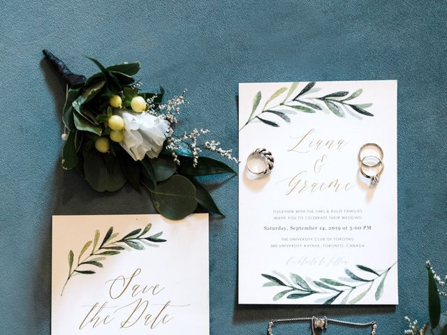 Graeme and Liana's wedding in Toronto, Ontario 7