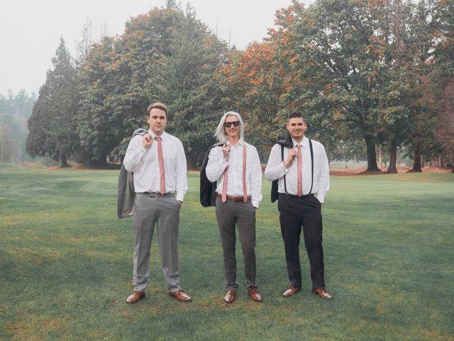 James and Ebony 's wedding in Hope, British Columbia 3