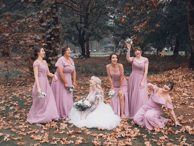 James and Ebony 's wedding in Hope, British Columbia 1