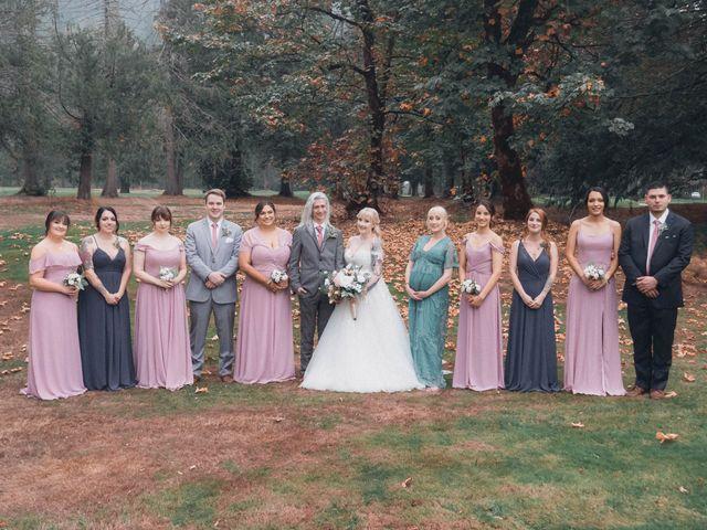 James and Ebony 's wedding in Hope, British Columbia 9