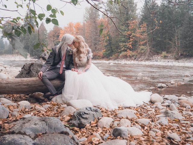 James and Ebony 's wedding in Hope, British Columbia 11