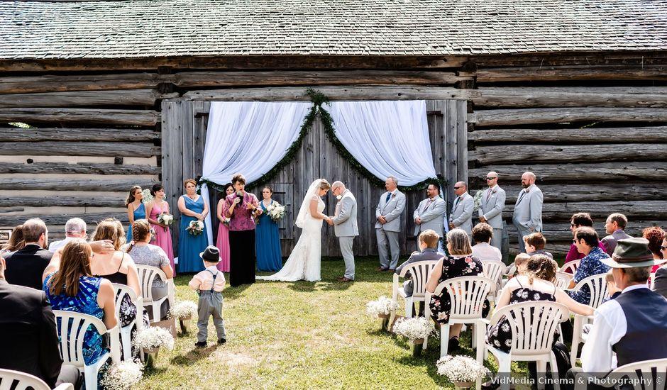 Chris and Jaime's wedding in Milton, Ontario