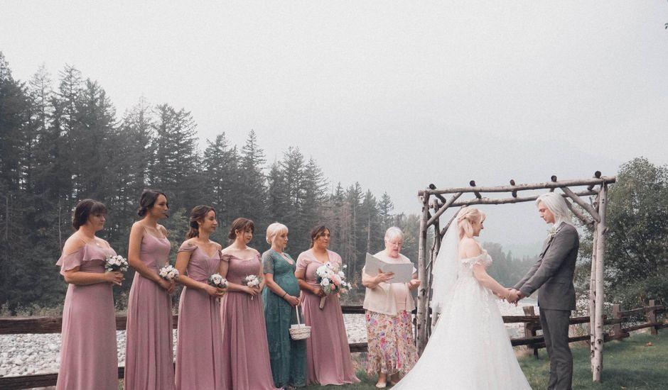 James and Ebony 's wedding in Hope, British Columbia