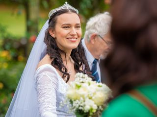 The wedding of Basia and Peter