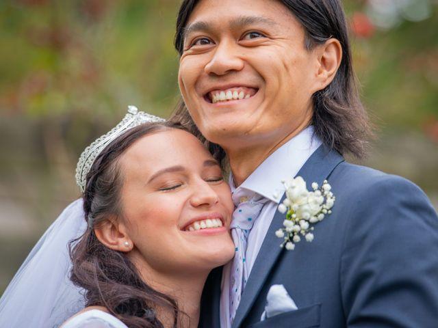 Peter and Basia's wedding in Burnaby, British Columbia 1