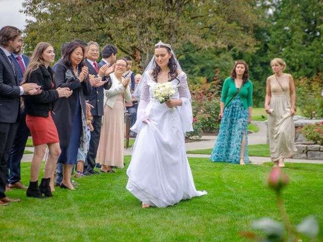 Peter and Basia's wedding in Burnaby, British Columbia 13