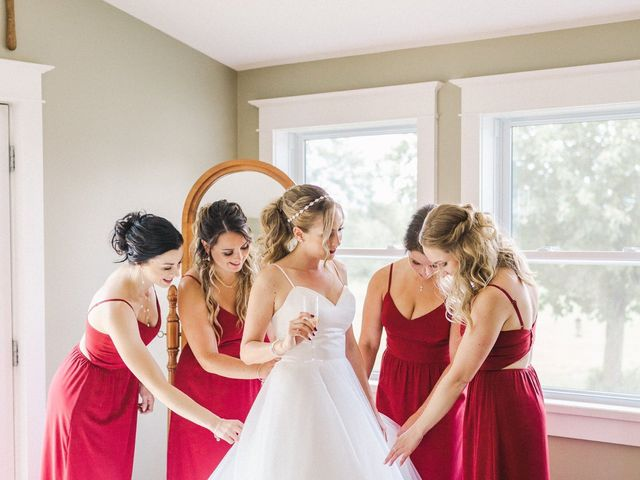Kyle and Kelsey's wedding in Richmond, Ontario 5