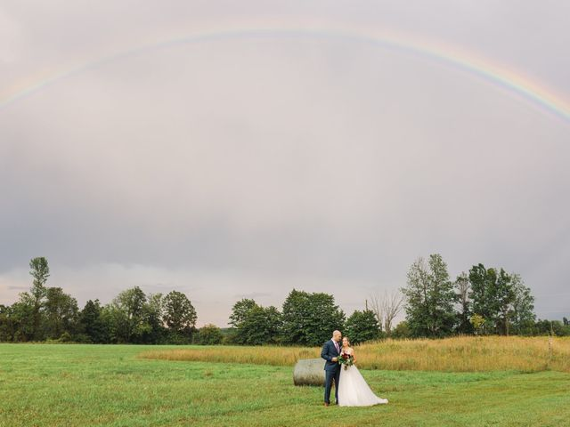 Kyle and Kelsey's wedding in Richmond, Ontario 11