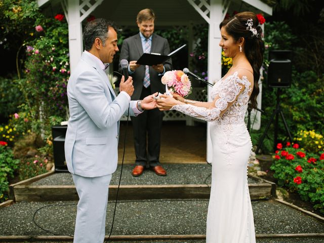 Abelardo and Marialejandra's wedding in Vancouver, British Columbia 17
