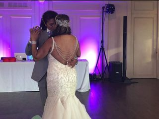 The wedding of Dionne and Lesley 1