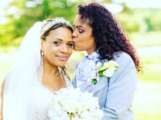 The wedding of Dionne and Lesley