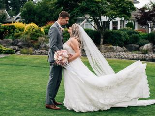 The wedding of Cortney and Brent