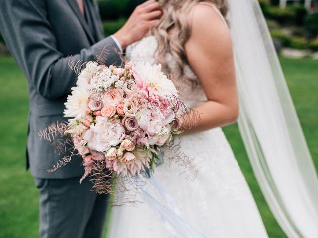 Brent and Cortney's wedding in Surrey, British Columbia 4