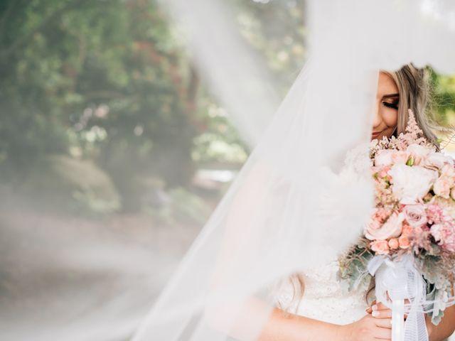 Brent and Cortney's wedding in Surrey, British Columbia 6