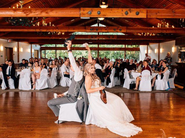 Brent and Cortney's wedding in Surrey, British Columbia 7