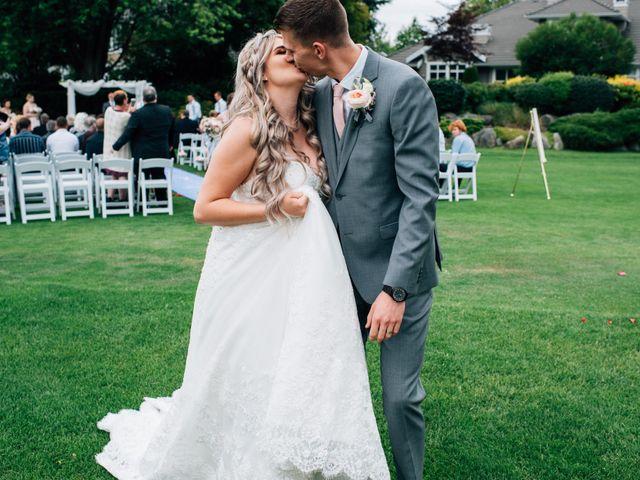 Brent and Cortney's wedding in Surrey, British Columbia 8