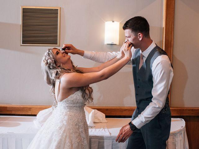 Brent and Cortney's wedding in Surrey, British Columbia 9
