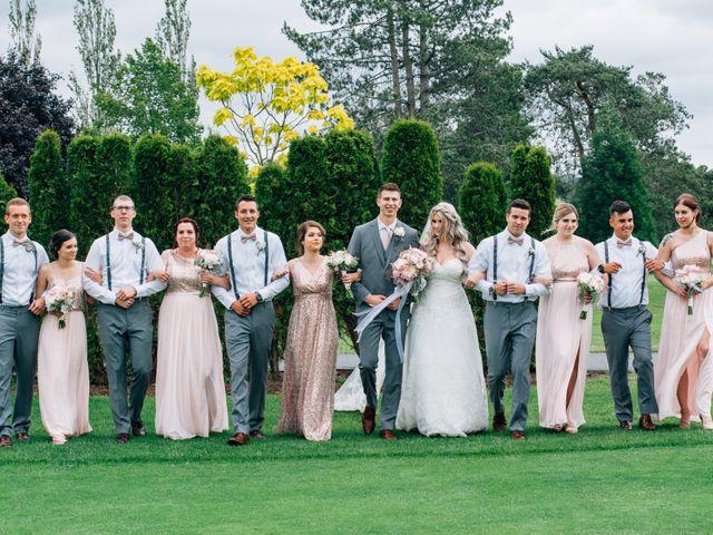 Brent and Cortney's wedding in Surrey, British Columbia 1