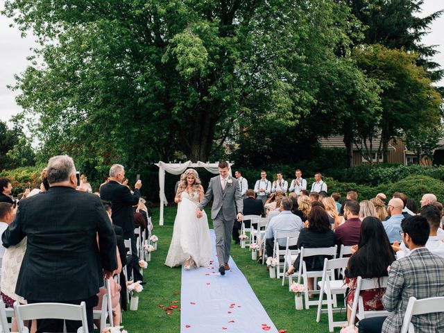 Brent and Cortney's wedding in Surrey, British Columbia 11