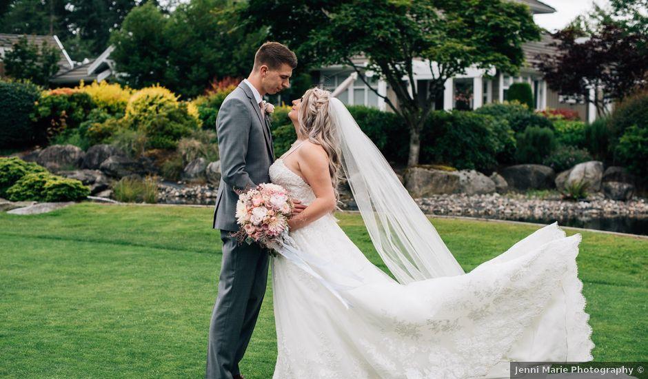 Brent and Cortney's wedding in Surrey, British Columbia