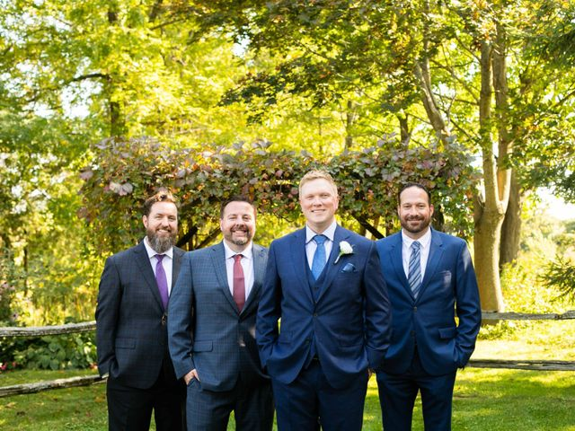 Emily and Mike's wedding in Roseneath, Ontario 12
