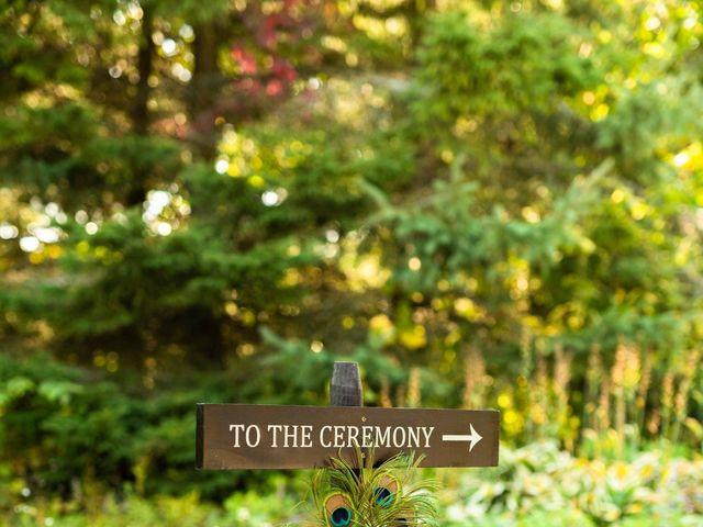 Emily and Mike's wedding in Roseneath, Ontario 15