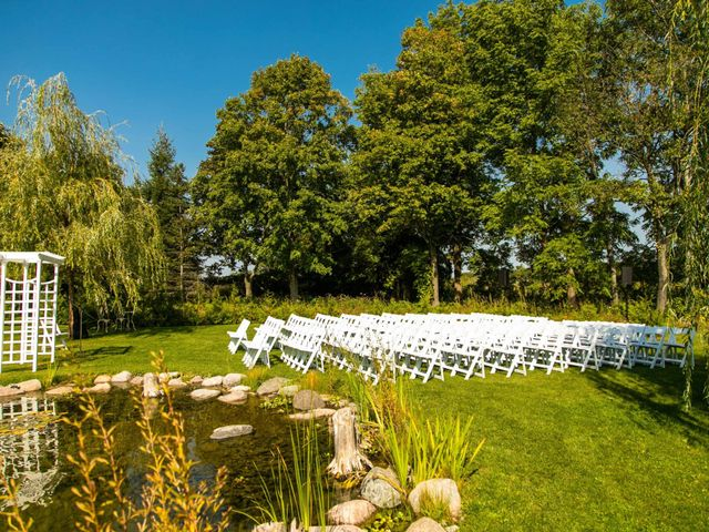 Emily and Mike's wedding in Roseneath, Ontario 20