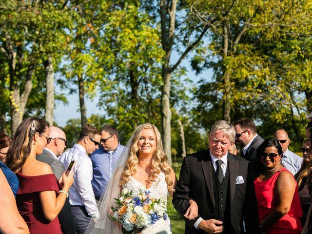 Emily and Mike's wedding in Roseneath, Ontario 38