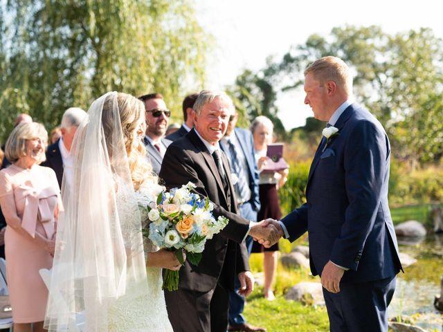 Emily and Mike's wedding in Roseneath, Ontario 40