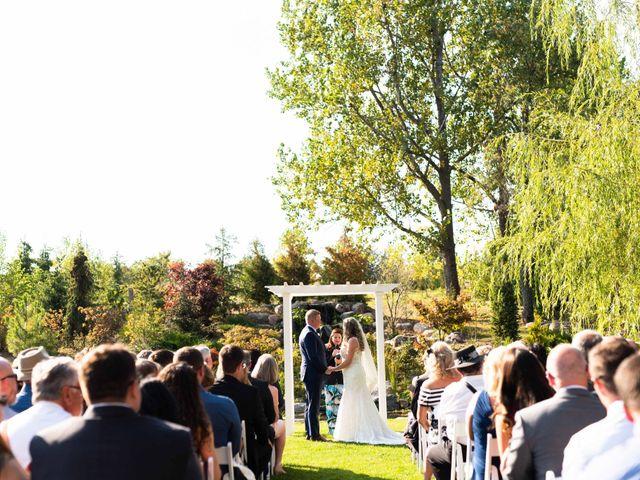 Emily and Mike's wedding in Roseneath, Ontario 42
