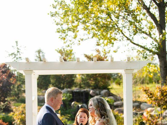 Emily and Mike's wedding in Roseneath, Ontario 49
