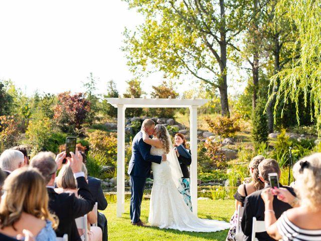 Emily and Mike's wedding in Roseneath, Ontario 50