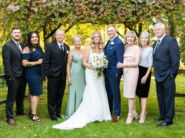 Emily and Mike's wedding in Roseneath, Ontario 58