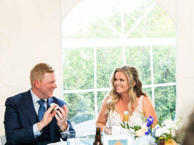 Emily and Mike's wedding in Roseneath, Ontario 116