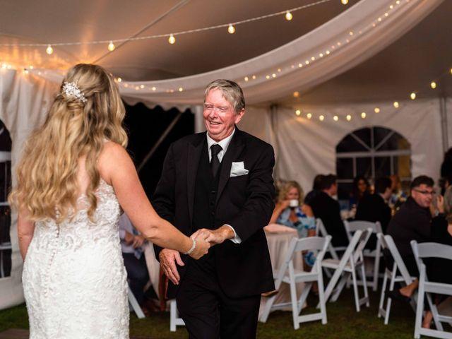 Emily and Mike's wedding in Roseneath, Ontario 159
