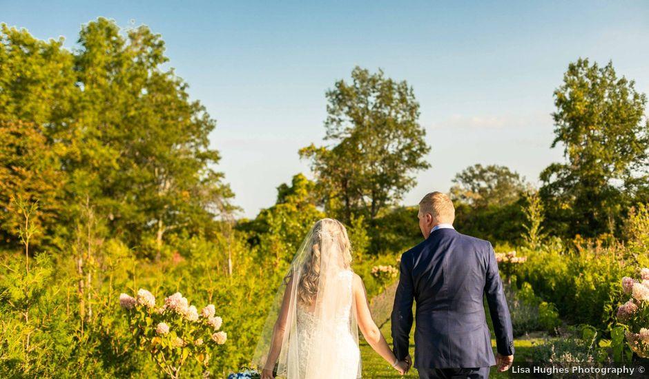 Emily and Mike's wedding in Roseneath, Ontario