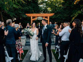 The wedding of Lori and Kamil 1