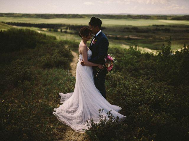 Joe and Lisa's wedding in Calgary, Alberta 1