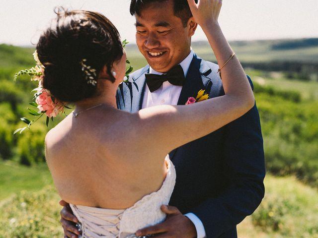 Joe and Lisa's wedding in Calgary, Alberta 6