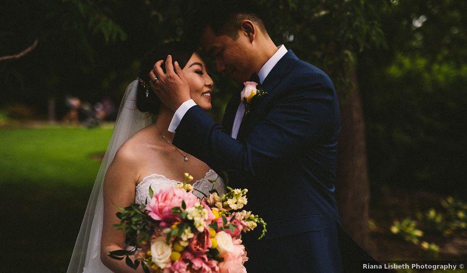 Joe and Lisa's wedding in Calgary, Alberta