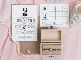 The wedding of Louisa and Jeffrey 1