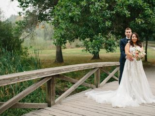 The wedding of Claire and Mathew